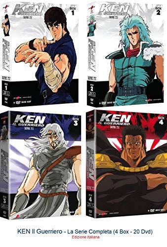 KEN Il Guerriero - La Serie Completa (4 Box - 20 Dvd) Ed. Italiana