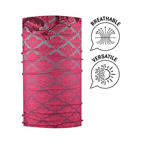 Wind Extreme Tubulaire Barroc Polyester Bordeaux Unique