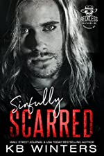 Sinfully Scarred: A Motorcycle Club Romance (Reckless Bastards MC Book 2)