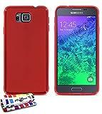 MUZZANO F869085 - Funda para Samsung Galaxy Alpha, Color Rojo