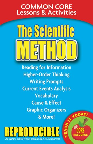 Download The Scientific Method: Common Core Lessons & Activities 0635106159