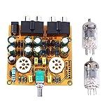 6J1 Tube Amplifiers Board, Pre-Amp Amplifier Audio Board Tube Audio Amplifier HiFi Channel Class A Volume Control Tone Preamplifier Board Kit
