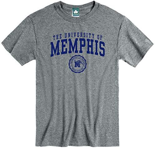 Ivysport University of Memphis Tigers Short-Sleeve T-Shirt, Heritage, Charcoal Heather, X-Large