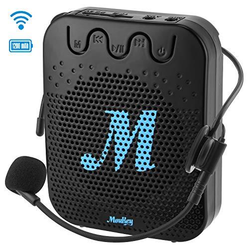 Moukey Amplificador Voz portatil 10 W 1200 mAh Batería