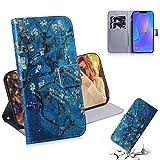Dmtrab Phone Case for Huawei P intelligent Plus (2019) / Nova 3i Portefeuille, dessin de couleur de...