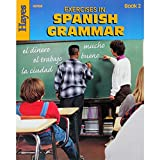 HAYES School Publishing H-HS702R Exercices de grammaire espagnole...