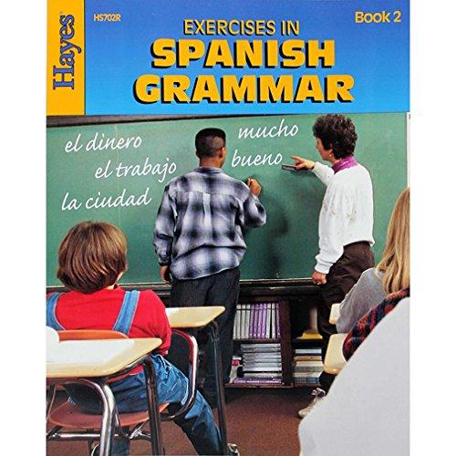 Exercícios em livro de gramática espanhol