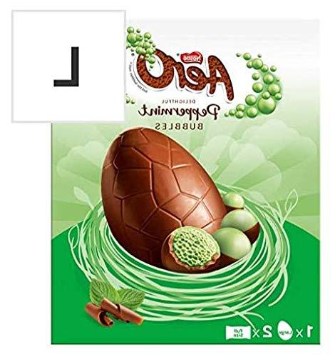 High-Q Dolce Dente Aero Peppermint Cioccolato Grande Uovo di Pasqua 252G
