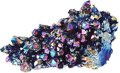 Características Decoração para Casa Galvanoplastia Decoração de Cristal Colorido Aquário de Bonsai Decoração de Cluster de Cristal de Mesa (4X2.5cm 15g