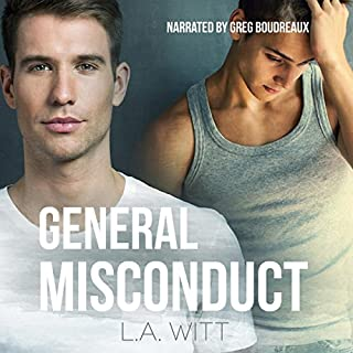 General Misconduct audiobook cover art