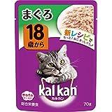 カルカン パウチ 18歳から まぐろ キャットフード 高齢猫用 70g×16袋 (まとめ買い)