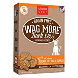 Cloud Star Wag mehr Ofen gebacken Getreide Kekse–14Unze Peanut Butter, Äpfel