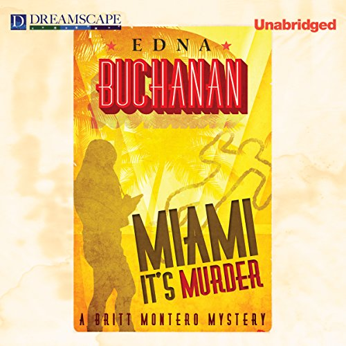 Miami, It's Murder audiobook cover art