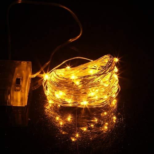 Luces de navidad LED decoración de banquete de boda de navidad LED cadena de luces de hadas luces de cadena A7 3m30 leds batería