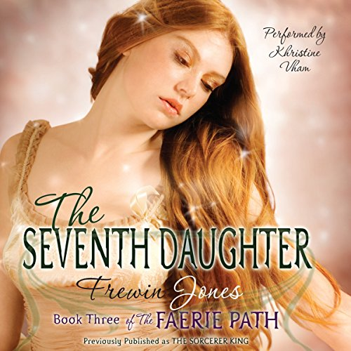 The Seventh Daughter audiobook cover art