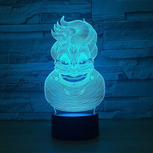 3D Nachtlicht,Cartoon-Bilder,Halloween-Geschenke, Weihnachtsgeschenke, Geburtstagsgeschenke, Jungen- Und Mädchengeschenke