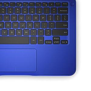 """Dell Inspiron i3162-0003BLU 11.6"""" HD Laptop (Intel Celeron N3060, 4GB RAM32 eMMC HDD) Bali Blue"""