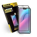 [GAURUN ガウラン] iPhone 12 / 12Pro 用(6.1) ガラスフィルム (2枚入り) 硬度9H フルカバー 傷防止 指紋防止 耐衝撃 強化ガラス 液晶保護フィルム シート 2.5D プライムケースフィットガラス
