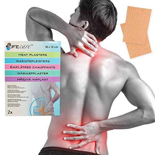 Wärme-pflaster Rücken- Nacken- Schmerzen -Verspannung 18x12cm Capsicum & Menthol (14)