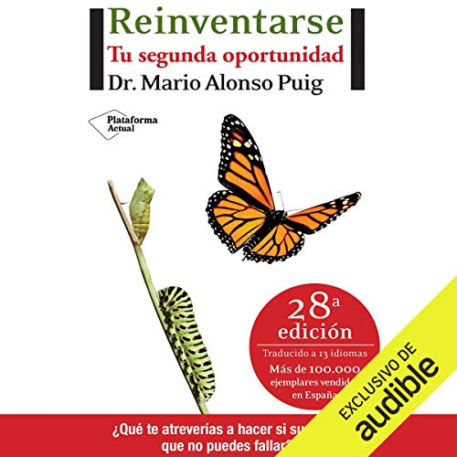 Reinventarse [Reinvent] audiobook cover art