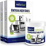 Pflegeset 40x Entkalkungstabletten & 260x Reinigungstabletten für Kaffeevollautomaten...
