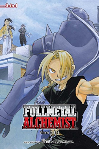 Fullmetal Alchemist (3-In-1 Edition), Vol. 3: Includes Vols. 7, 8 & 9