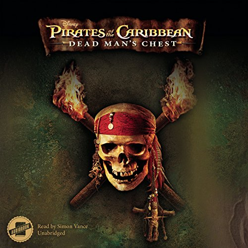 Pirates of the Caribbean: Dead Man's Chest audiobook cover art