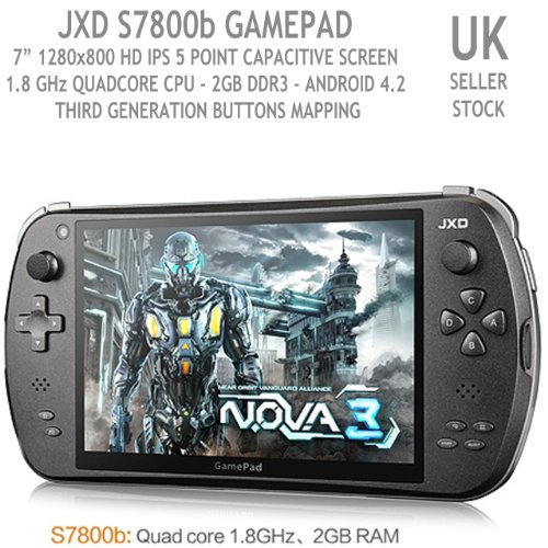 JXD S7800 RK3188 Quad Core Game Pad 3 Console Android 4.2 Tablet 16GB ROM [Importación Inglesa]