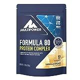 Multipower Formula 80, Sabor Vanilla Cream - 510 gr
