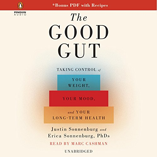 The Good Gut audiobook cover art