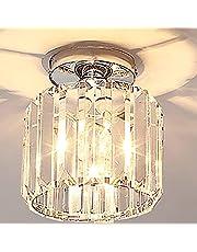 ALLOMN Moderne Stijl Wandlamp, Kristal Hanger Wandlamp Slaapkamer Gangpad Woonkamer Wandlamp Houder E14 Socket (Lamp Niet Inbegrepen)