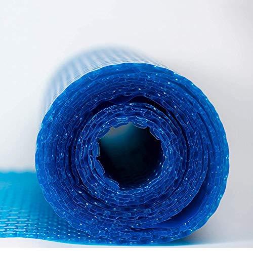 Bain À Remous Couverture Bubble, Couverture de Piscine Rectangulaire Bleue pour Les Piscines Hors Terre, Étanche À la Poussière et À la Pluie, Facile À Enrouler (Size : 2.5x3m)