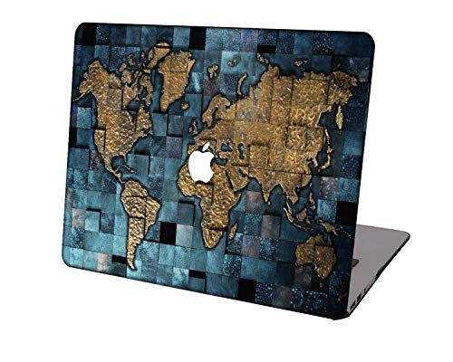 Laptop Case for MacBook Pro 13 inch Retina Model A1425/A1502,Neo-wows Plastic Ultra Slim Light Hard Shell Cover Compatible MacBook Pro 13 inch No CD ROM,Geography 105