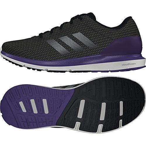 adidas Damen Cosmic W Laufschuhe, Black (Negbas/Hiemet/Puruni), 38 EU