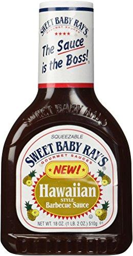 Sweet Baby Rays Barbecue Sauce, Hawaiian, 18 oz -  sweet baby ray's, 51598