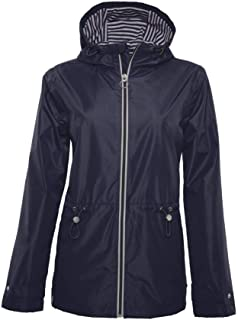 BREIZH OCEAN - Parka Impermeable para Mujer