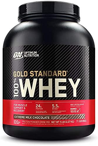 Optimum Nutrition Gold Standard Whey, 2.27 kg, Extreme Milk Chocolate