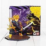 CXNY Anime Dragon Ball Z Troncs Figure Jouet Super Saiyan Tr