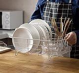 Égouttoir à vaisselle en fer blanc pour cuisine