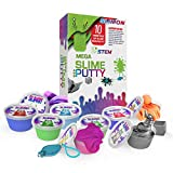 Slime & Putty Set – Boys and Girls Fluffy Slime Lab – Glow-in-The-Dark Magnetic Putty Kit for Kids – Non-Toxic and Safe – Mega Variety Pack – Perfect for Party Favors