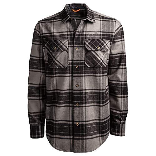 Timberland PRO A1V4K Woodfort - Camicia da lavoro in flanella pesante - - S