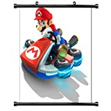 Mario Kart 8 Game Fabric Wall Scroll Poster (32x32) Inches