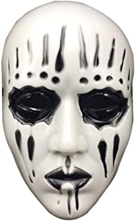 CHENGL Halloween Mask, Slipknot Joey Jordison Adult Mask Scary and Horror Halloween Mask Masquerade Cosplay Party Masks Mascara de Halloween, Black,Black