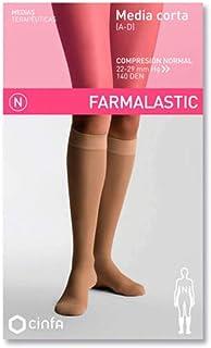 CINFA S.A., CINFA Farmalastic media corta normal beige t/reina plus