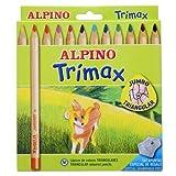 Alpino-490251 Pack de 12 lápices, Colores Surtidos, Multicolor, única (Industrias Massats 113)