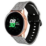 Klaas 20mm Width Silicon Band Compatible with Samsung Galaxy Watch 40mm 42mm/Gear Sport S2/Amazfit Bip/Huawei Smart Watch Quick Release Strap Wristbands for Ticwatch 2/S/E (Xiangyun, Size L)