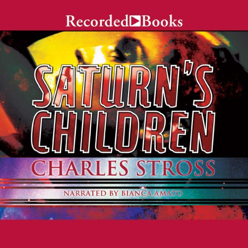 Saturn's Children audiobook cover art
