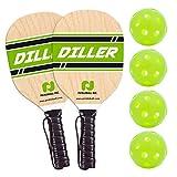 Diller Pickleball Paddle 2 Player Bundle (Set...