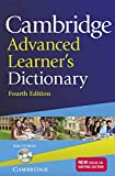Cambridge advanced learner's dictionary. Con CD-ROM: Fourth Edition
