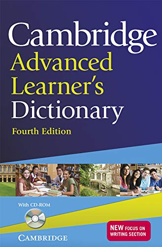 Cambridge Advanced Learner's Dictionary with CD-ROM. Fourth Edition.